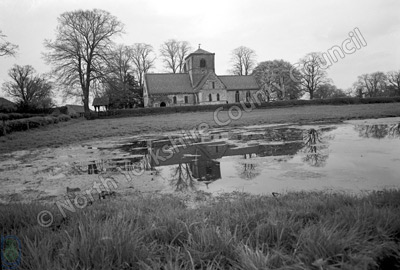 Bossall Church, 1969